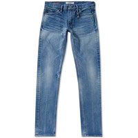 Fdmtl Figure Skinny Straight Jean Blue