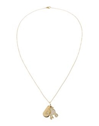 Moschino Cheap And Chic Moschino Cheapandchic Necklaces Gold
