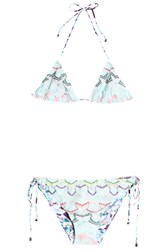 Missoni Women S Reversible Rochelle Bikini Boutique1 Blue