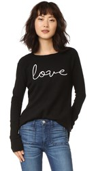 Rebecca Minkoff Libre Sweater Black Chalk