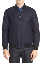 Men's Kent And Curwen Mixed Media Bomber Jacket