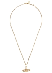 Vivienne Westwood Gold Plated Orb Necklace