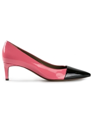 Marni Pointed Toe Pumps Pink And Purple