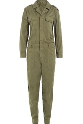 Closed Cotton Jumpsuit Green