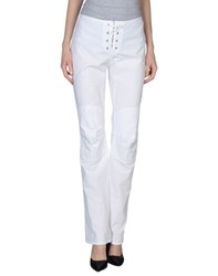 Richmond Denim Trousers Casual Trousers Women White