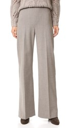 Lela Rose High Waist Pants Taupe