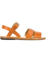 A.P.C. 'Massada' Sandals Brown
