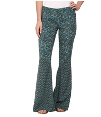 Anna Sui For O'neill Day Dreamer Bell Pants Paradise Women's Casual Pants Blue