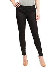 Dittos Selena Mid Rise Super Skinny Jeans Black