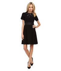 Marc By Marc Jacobs Lightweight Crepe Katia Dress Black