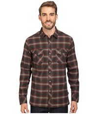 Kuhl Maverik Midnight Red Men's Long Sleeve Button Up Black