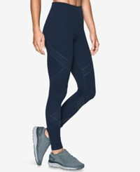 Under Armour Luminous Leggings Midngith Navy Faded Ink