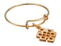 Alex And Ani Precious Expandable Wire Ring Gold Endless Knot Ring