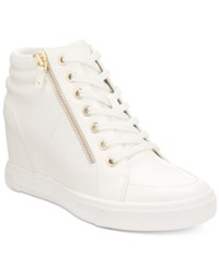 Aldo Women's Ottani Wedge Sneakers White