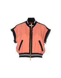Emanuel Ungaro Coats And Jackets Jackets Women Salmon Pink