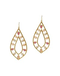 Lauren Ralph Lauren Pink Sands Drop Earrings Gold