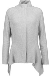 Magaschoni Cashmere Sweater Light Gray
