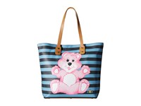 Vivienne Westwood Printed Pouch Shopper Bear Multi Tote Handbags