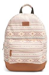 Rip Curl 'Surf Bandit' Woven Backpack Pink Dusty Rose