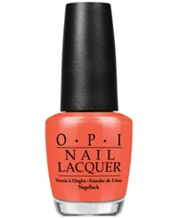 Opi Nail Lacquer Hot And Spicy