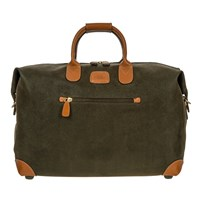 Bric's Life Clipper Holdall Olive Tan Small