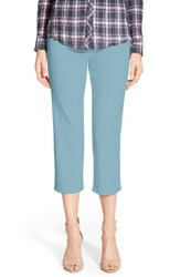 Women's Jag Jeans 'Echo' Pull On 5 Pocket Crop Pants Azure