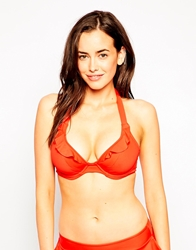 Freya In The Mix Underwired Banded Halter Bikini Top D J