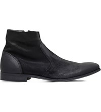 Kg By Kurt Geiger Reece Suede Ankle Boots Black