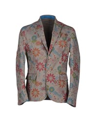 Roberto Pepe Suits And Jackets Blazers Men Dove Grey