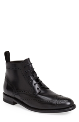 Sendra 'Newport' Wingtip Boot Men Black