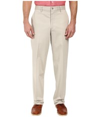 Dockers Signature Stretch Relaxed Flat Front Cloud Men's Casual Pants White