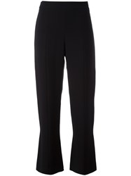 Giorgio Armani Cropped Trousers Black