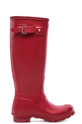Hunter Original Tall Rain Boot Red