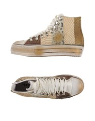 Happiness Footwear High Tops And Trainers Women Beige