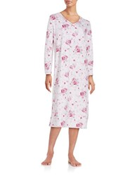Karen Neuburger Floral Nightgown