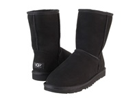 Ugg Classic Short Black Women's Pull On Boots