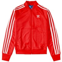 Adidas Superstar Track Top Red