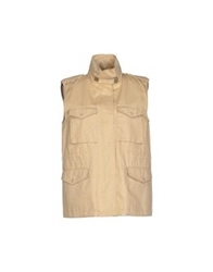 M.Grifoni Denim Jackets Beige