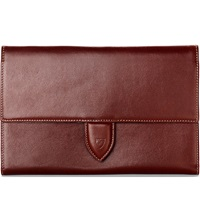 Aspinal Of London Deluxe Leather Travel Wallet Cognac