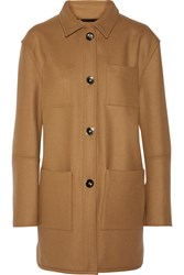 Opening Ceremony Wool Blend Coat Brown