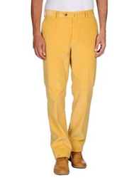 Hackett Casual Pants Ocher