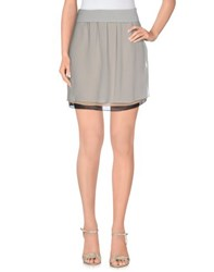 Emporio Armani Skirts Mini Skirts Women Light Grey