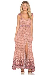 Spell And The Gypsy Collective Sunset Road Maxi Dress Pink