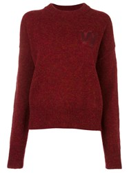 Wood Wood 'Alicia' Sweater Red