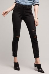 Anthropologie Hoxton Crop Roll Up Carbon