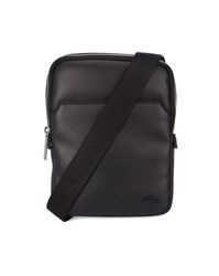 Lacoste Black Crossover Shoulder Bag