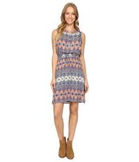 Lucky Brand Stained Glass Dress Multi Women's Dress