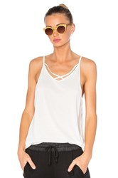 Solow Softlounge Cross Strap Tank White