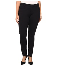 Yummie Tummie Plus Size Tyler Jean Legging Black Women's Casual Pants
