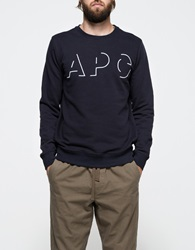 Logo Sweatshirt Dark Navy